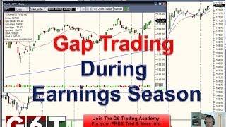 Gap Trading During Earnings Season Using G6 Method