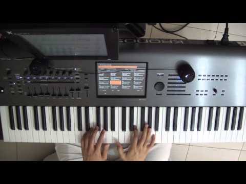Dream Theater - Octavarium keyboard solo tutorial