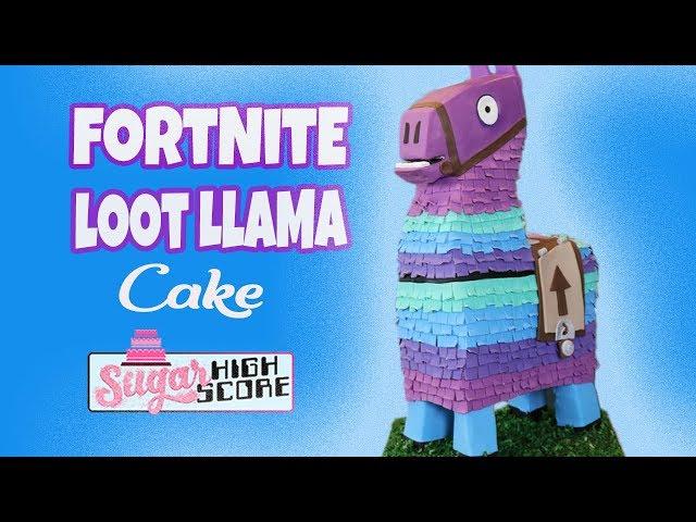 FORTNITE LOOT LLAMA CAKE