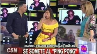 Claribel Medina hablando muy lindo de Andrea Del Boca (enero 2015)