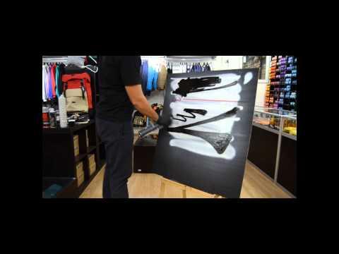 Видео-тест новой краски Белый и Черный 1000мл