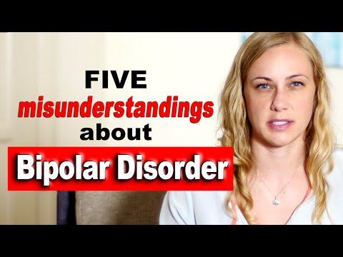 5 misunderstandings about Bipolar Disorder -  Kati Morton treatment therapy anxiety mood stabilizers