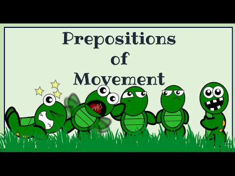Prepositions Of Movement, English Language Video Lessons