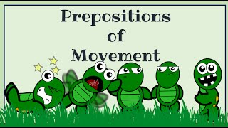Prepositions of movement: English Language