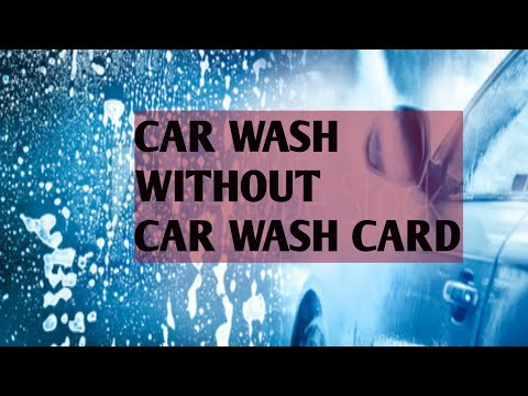 Petro Car Wash Without Car Wash Card |Petro Canada Car Wash With App.