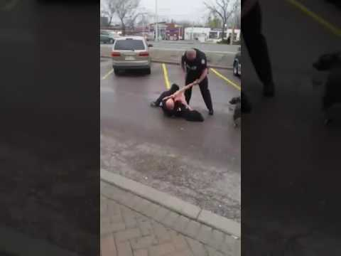 Toronto police using excessive force.
