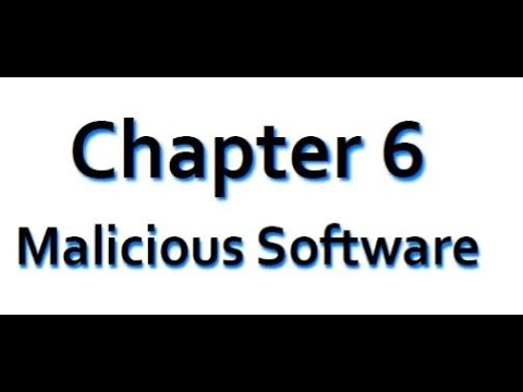 chapter 6 (Malicious Software)