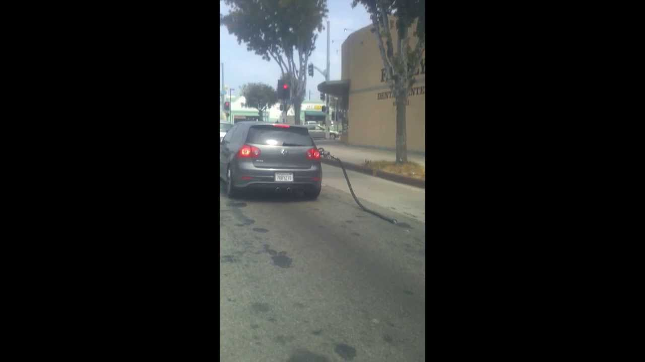 Driving Away With Gas Pump In Car