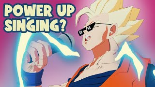 If Dragon Ball Characters SANG while powering up! PART 2