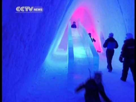 Finland's snow village open for business