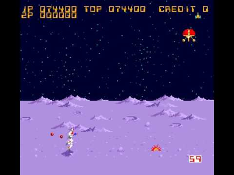 Arcade Game: Formation Z (1984 Jaleco)