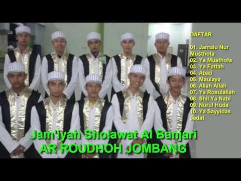 Full Album Sholawat Terbaik AR ROUDHOH JOMBANG (The Best Of Hadrah Al Banjari) | Suara Jernih HQ