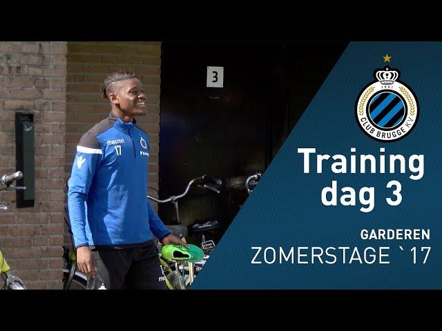 Zomerstage 2017: Training dag 3
