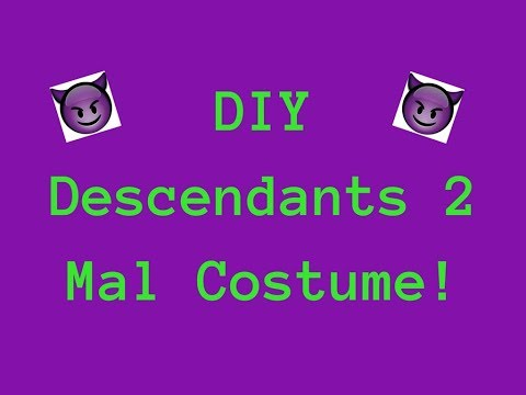 Descendants Mal Kohl Dress Up