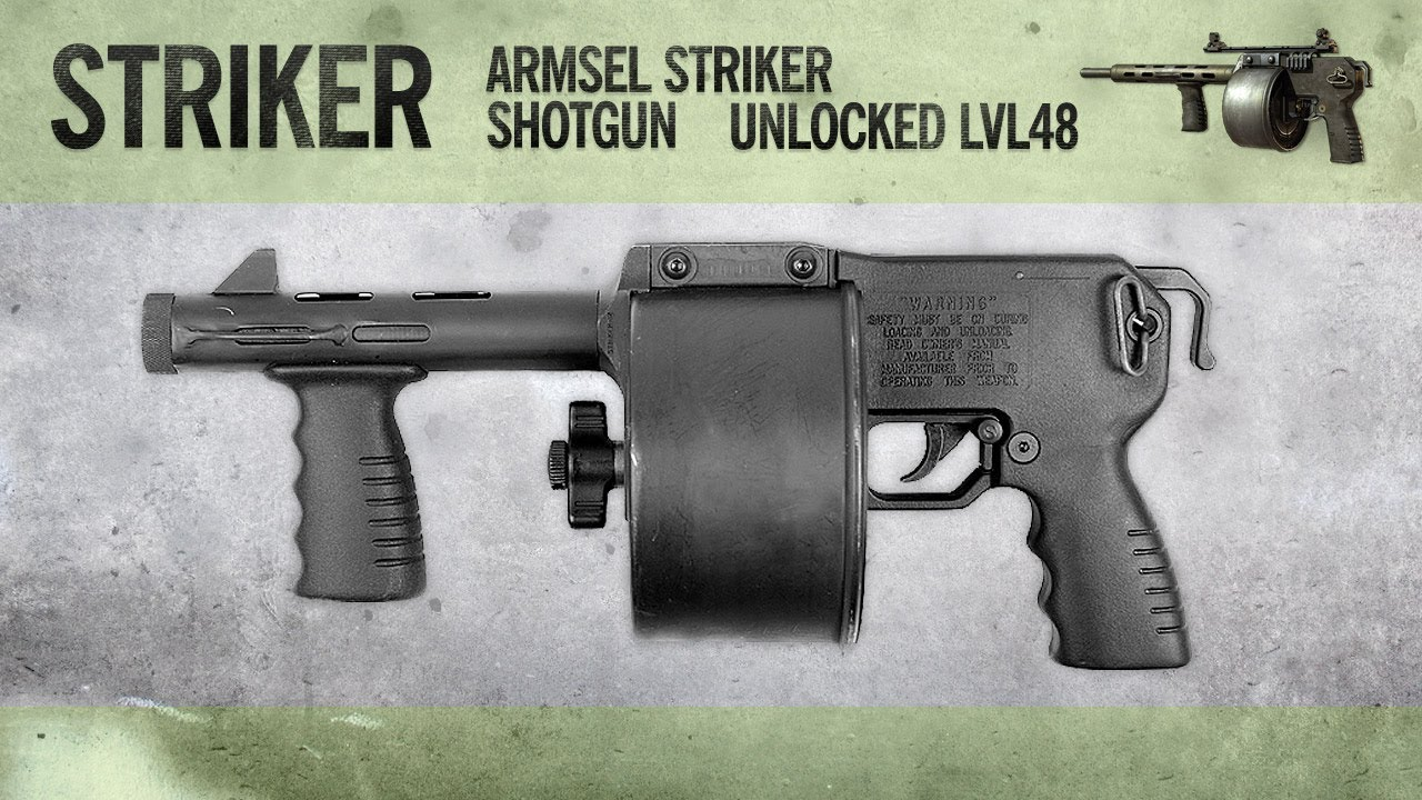 Striker : MW3 Weapon Guide, Gameplay & Gun Review
