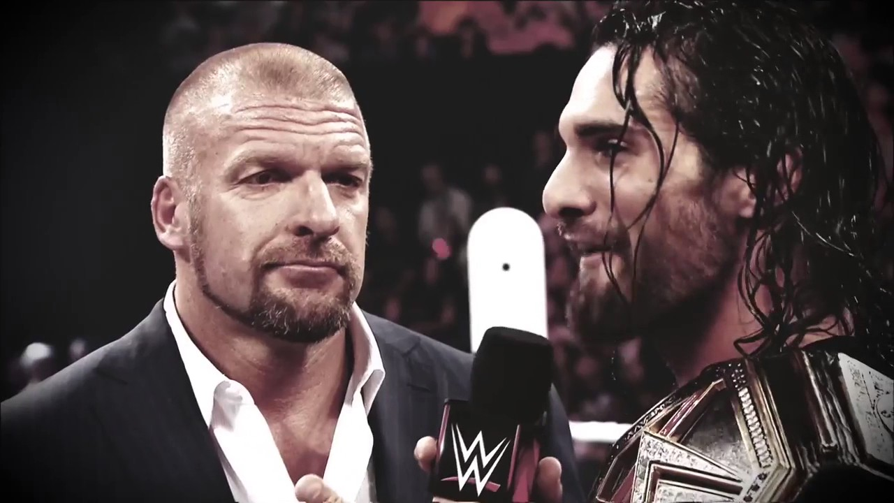 WWE Raw 3/27/2017: Rollins/HHH Wrestlemania 33 Promo - YouTube
