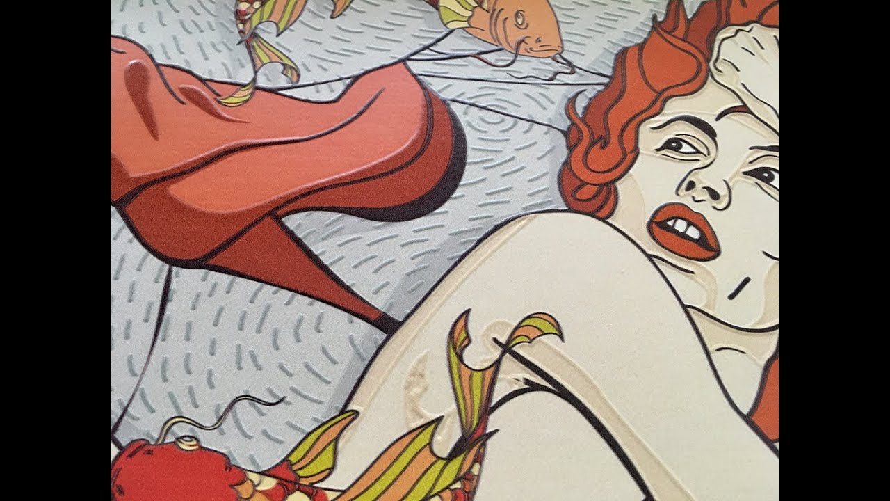 Download Poster Nude style erotic design embossed Dimense print