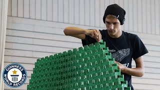 Best of domino and toppling world records - Guinness World Records