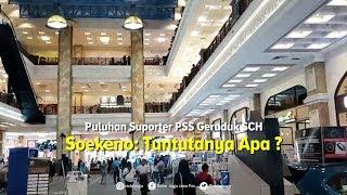 Suporter PSS Sleman Geruduk SCH. Direktur PT PSS: Tuntutannya Apa?