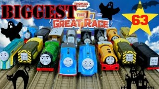 NEW THE BIGGEST THOMAS AND FRIENDS THE GREAT RACE #63 TRACKMASTER THOMAS THE TANK TOY TRAINS