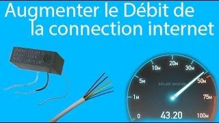 Augmentez le débit et la stabilité de votre connection ADSL(1/2)