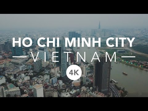 HO CHI MINH CITY | SAIGON - 4K DRONE VIDEO OF VIETNAM 2018