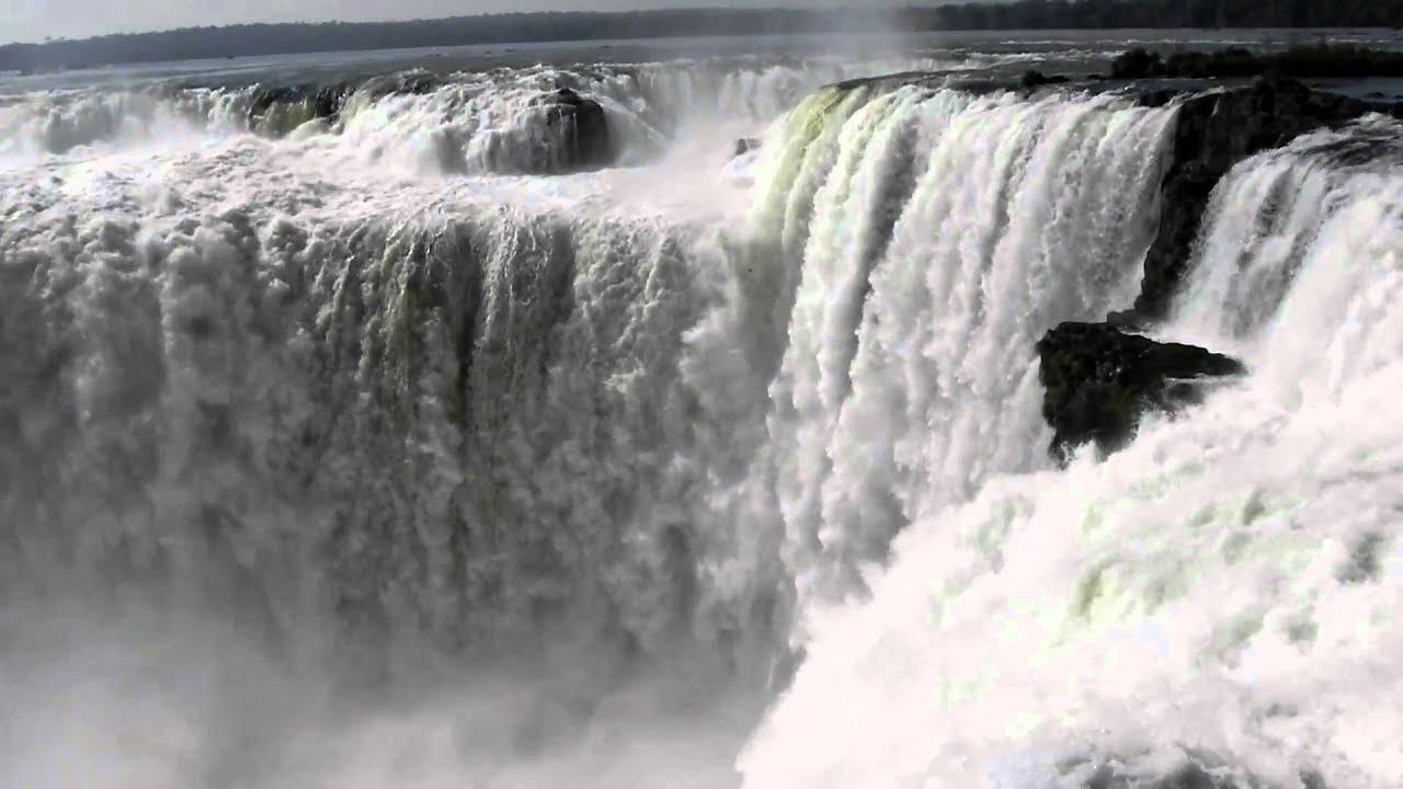 Diablo Hd Wallpaper Cataratas Del Iguaz 250 Garganta Del Diablo En Hd Youtube