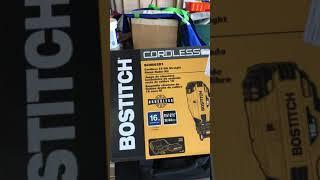 DeWalt 20V Max Lithium Ion Batteries in Bostitch 20V Max Tools