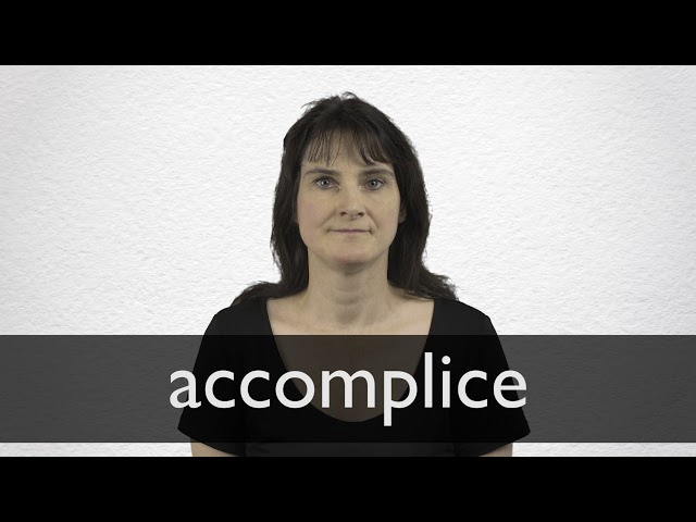 accomplice meaning