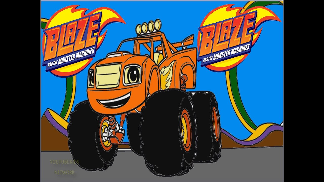 blaze and the monster machines color episode youtube