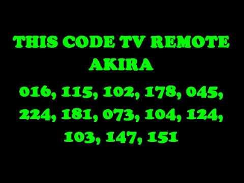 Kode Remot Tv Akira Dieby Perdhana Yudha Sanjaya Youtube