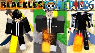 BLACK LEG ALL ONE PIECE ROBLOX