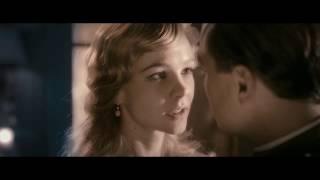 """Первый поцелуй Гэтсби и Дейзи. Классный момент из фильма """"Великий Гэтсби""""2013"""