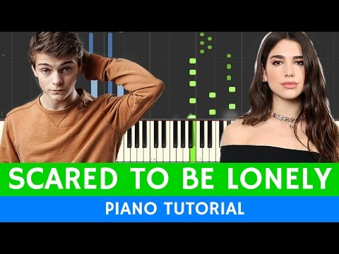 Martin Garrix - Scared To Be Lonely - BEST PIANO TUTORIAL