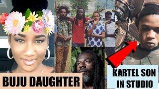 Buju Banton DAUGHTER Defends Her Brother | Vybz Kartel Son In STUDIO | Undisputed Champion