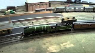 "LNER P2 2-8-2 steam locomotive model ""Cock o"