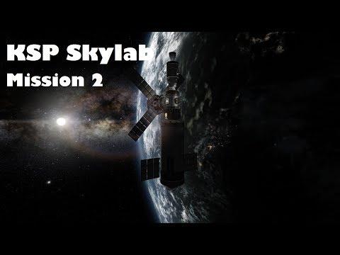 Kerbal Space Program   NASA Skylab Replica   Mission 2   Crew Transfer