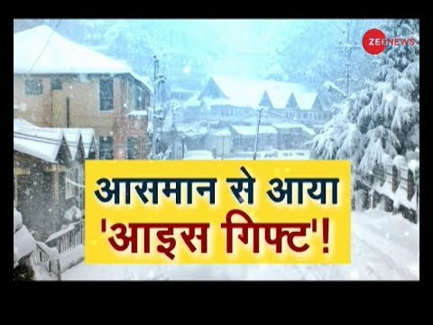 Jammu And Kashmir, Shimla And Uttarakhand Gets Fresh Snowfall