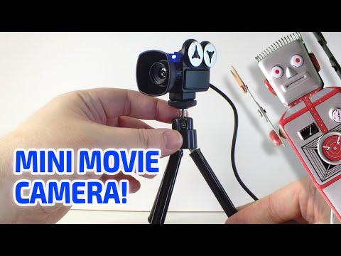 MINI MOVIE CAMERA Working Miniature