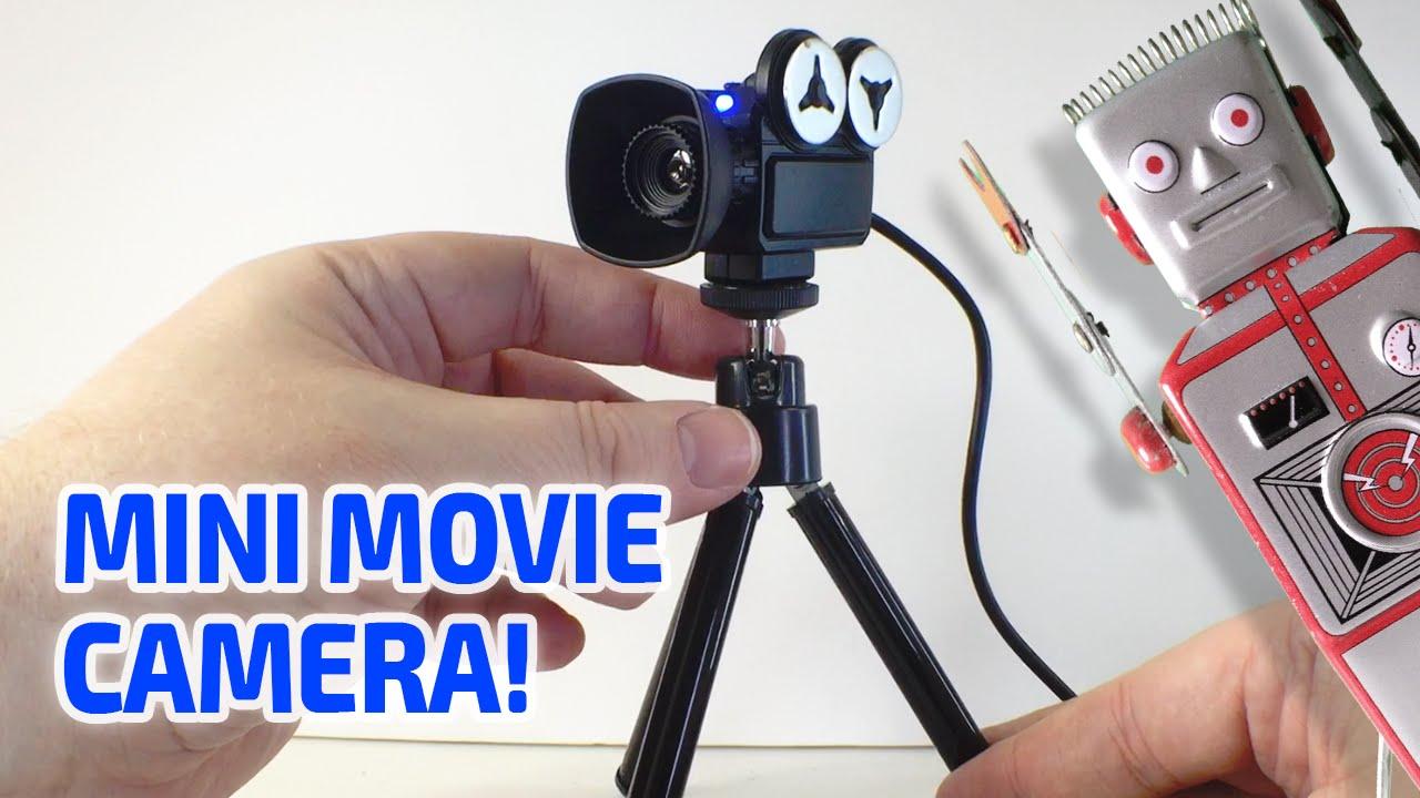 MINI MOVIE CAMERA Working Miniature - YouTube