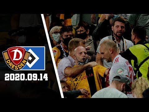 HSV-Spieler Leistner Attackiert Dynamo-Fan | Dynamo Dresden - Hamburger SV | SGD - HSV 4:1