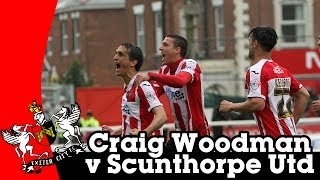 Craig Woodman v Scunthorpe United | Exeter City Football Club
