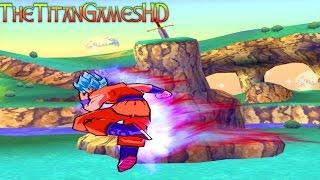Dragon Ball Z Shin Budokai Mods - Goku Super Saiyan Blue Kaioken x10