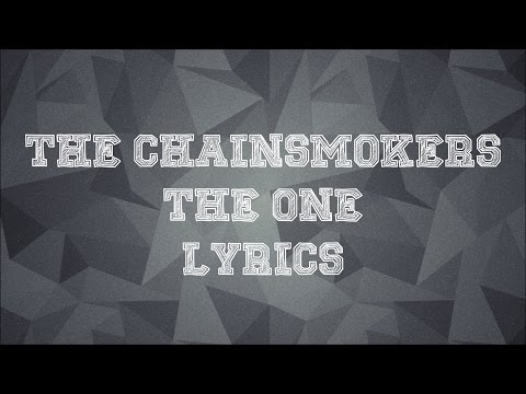 The Chainsmokers - The One JBX