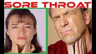 Sore Throat | Homeopathic Medicines For Throat infection | Treat Tonsillitis Pharyngitis Laryngitis