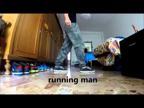 how to dance running right turn in quickstep
