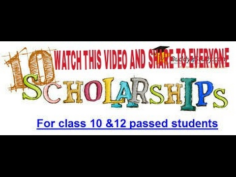 SCHOLARSHIP SCHEME FOR STUDENTS BY GOVT. OF INDIA (SHARE TO ALL)