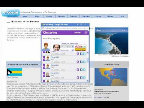 The Islands of The Bahamas live chat
