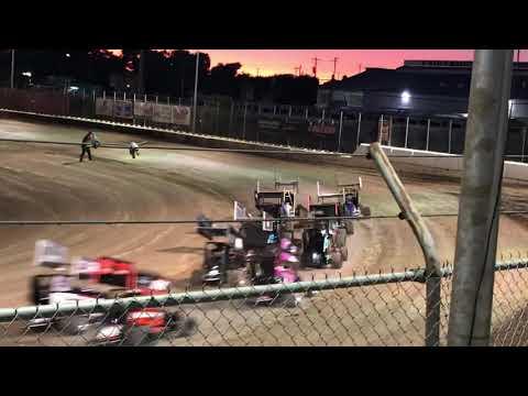 Delta Speedway 9/1/19 Jr Sprint Main- Cash