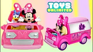 Nat and Essie Open Minnie Mouses Happy Helper Van Playset